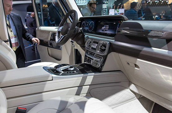 19款奔驰G500能力首屈一指 年底强力出